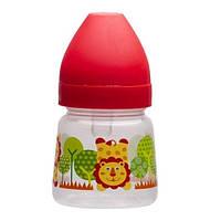 Бутылочка с широким горлышком 125 мл. Akuku A0318 red