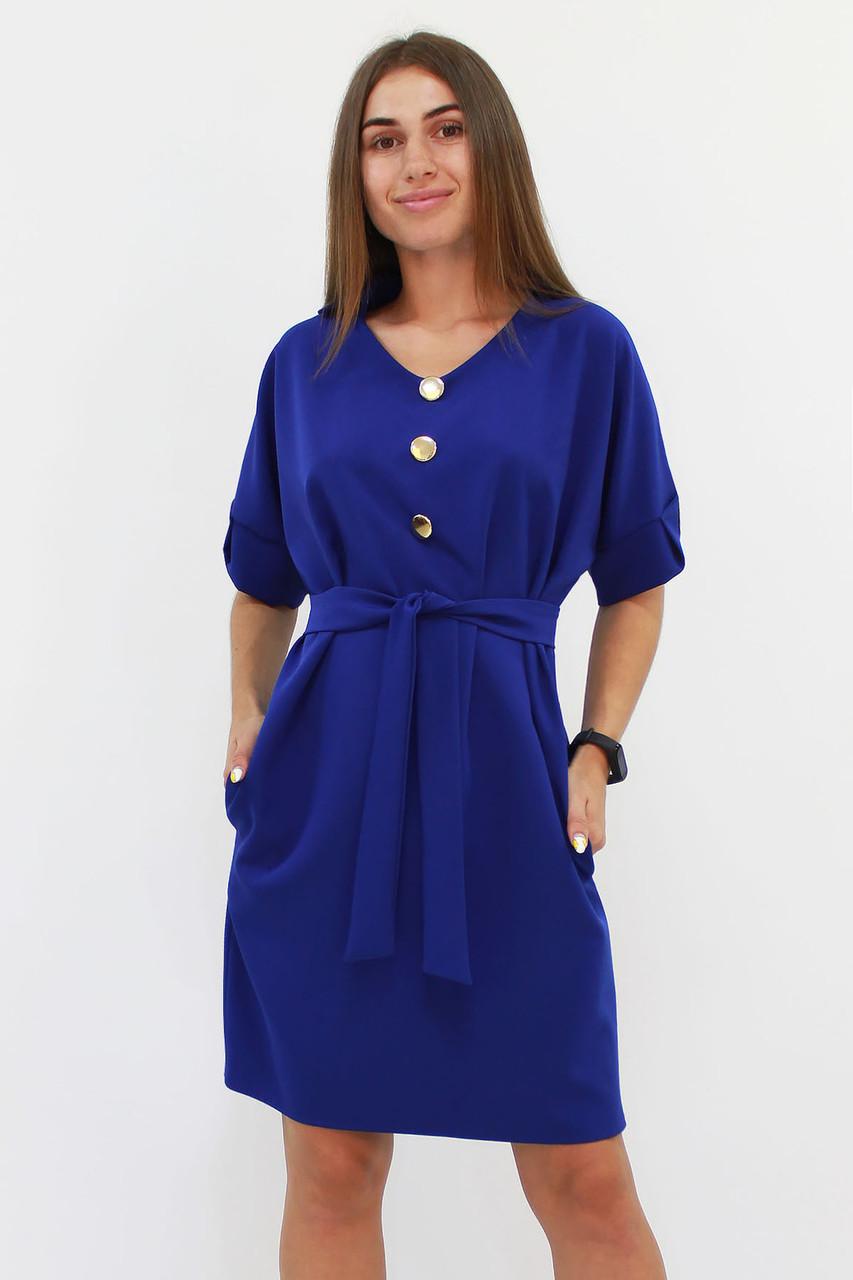 Свободное классическое платье Monika, синий