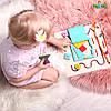 """Бизиборд БизиДом """"Маленький Геній"""" за методикою Марії Монтессорі 65х45х45см"""