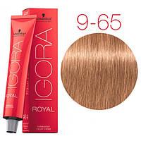 Перманентная крем-краска IGORA ROYAL Chocolates, Schwarzkopf Professional 60 мл 9-65 Экстра светлый блондин шоколадный золотистый