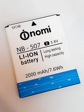 Аккумулятор (Батарея) для Nomi NB-507 i507 (2000 mAh) оригинал б.у., фото 2