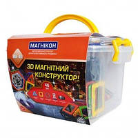 Магнитный конструктор на 120 деталей развивающая игрушка для детей