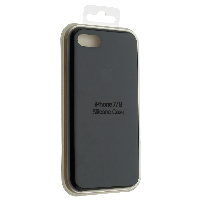 "Чехол Silicon iPhone SE 2020 - ""Черный №18"""