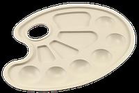Палитра овальная № 3  17,5 х 23 см AS-0017, К-3010
