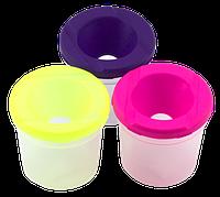 Стакан-непроливайка 7,6 х 7,6 х 7,6 см пластиковый AS-0021, К-3020