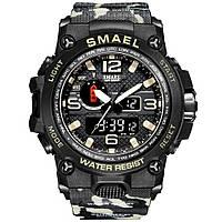 Смарт часы Smael 1545 черные умные часы SmartWatch