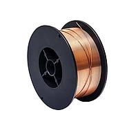 Проволока сварочная омедненная 0,8-1,2 мм, 5 кг, Vulkan ER70S-6