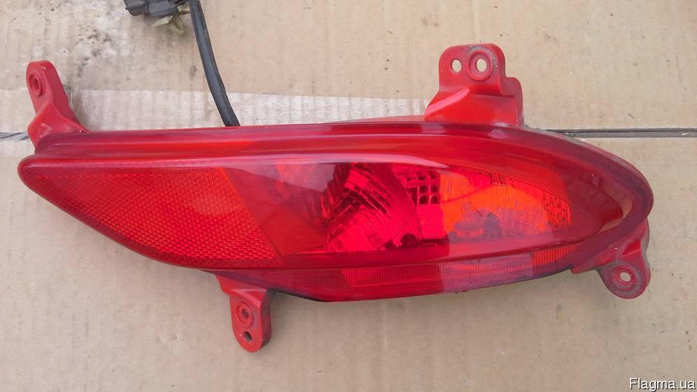 Фонарь правый заднего бампера Santa FЕ 12-гг 924062W300