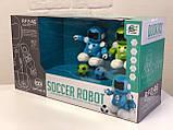 SOCCER ROBOT CAPTAIN Q Роботы футболисты 2 шт. игрушка на пульте управления соккер робот капитан, фото 3