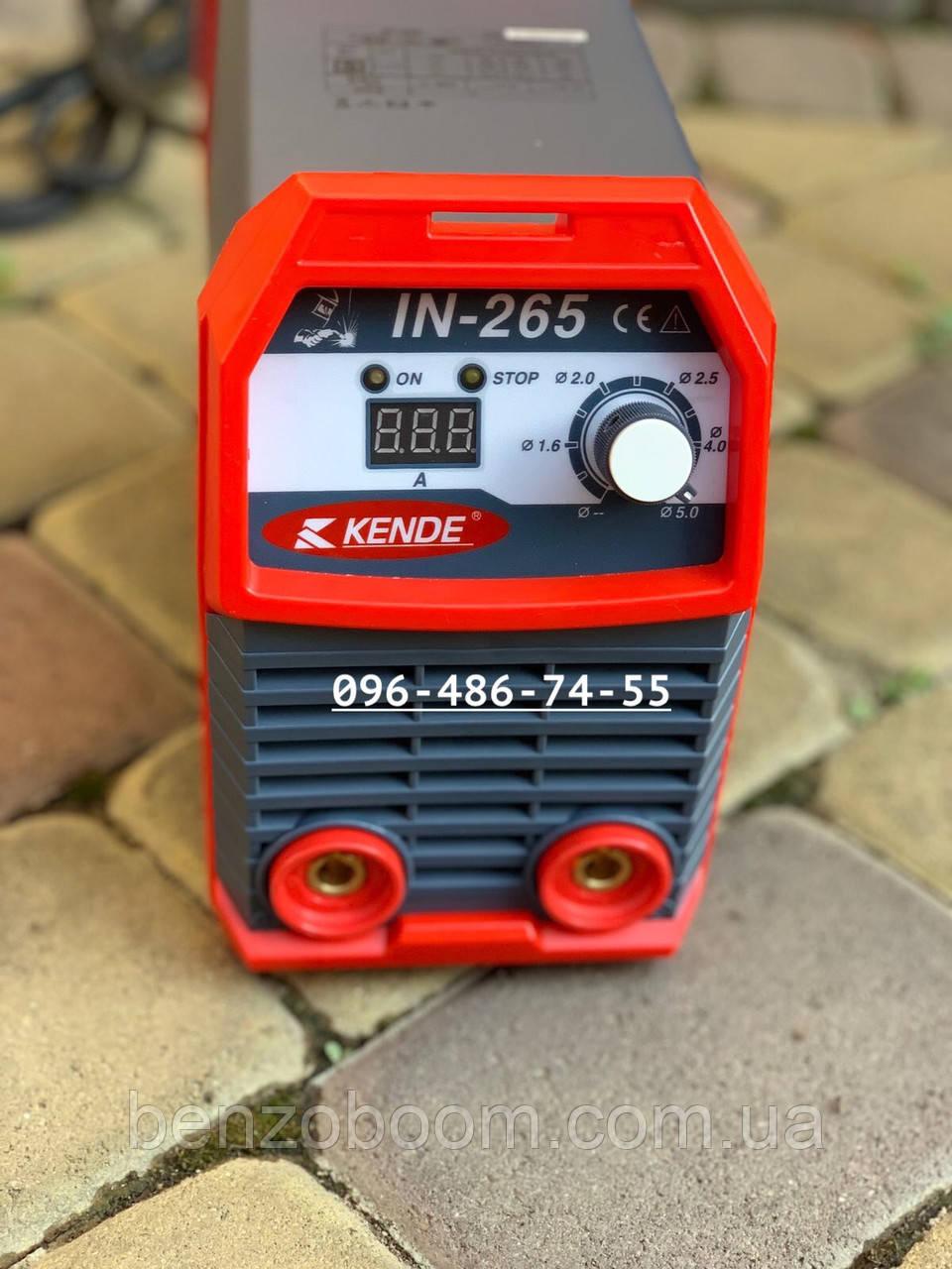 Инверторный сварочный аппарат Kende IN-265
