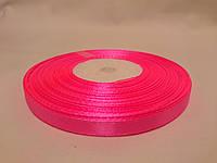Лента атласная 0,5см / 33метра ярко-розовая №22a