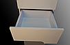 Пенал в ванную металлик с корзиной Симпл 40К-11 Пик, фото 3
