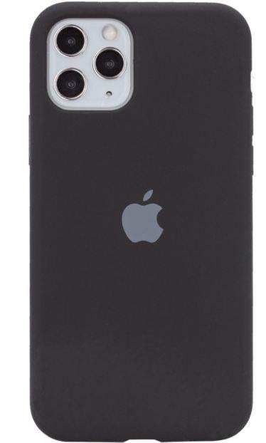 Чехол Apple Silicone Case iPhone 11 Pro Black_High Copy