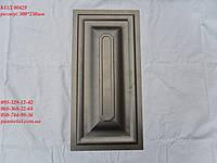 """Филенка металлическая для ворот """"Классика"""" 500*250мм, фото 1"""