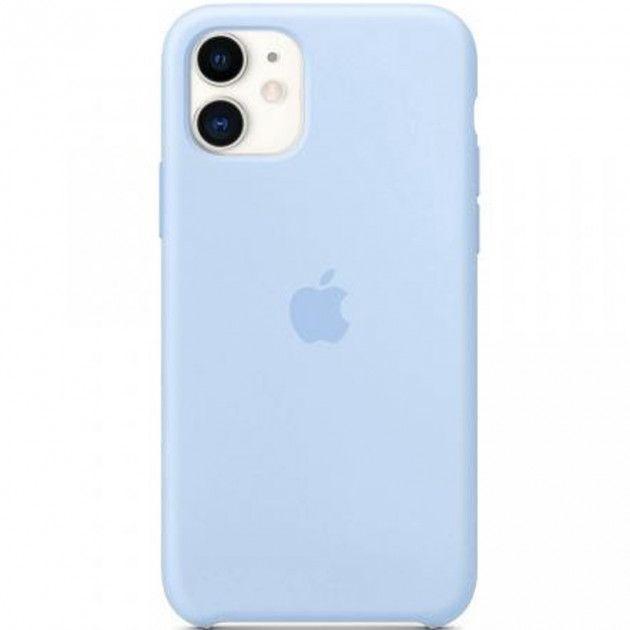 Чехол Apple Silicone Case iPhone 11 Blue_High Copy