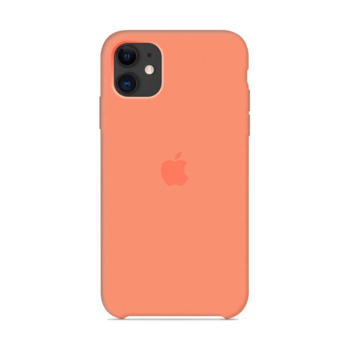 Чехол Apple Silicone Case iPhone 11 Peach_High Copy