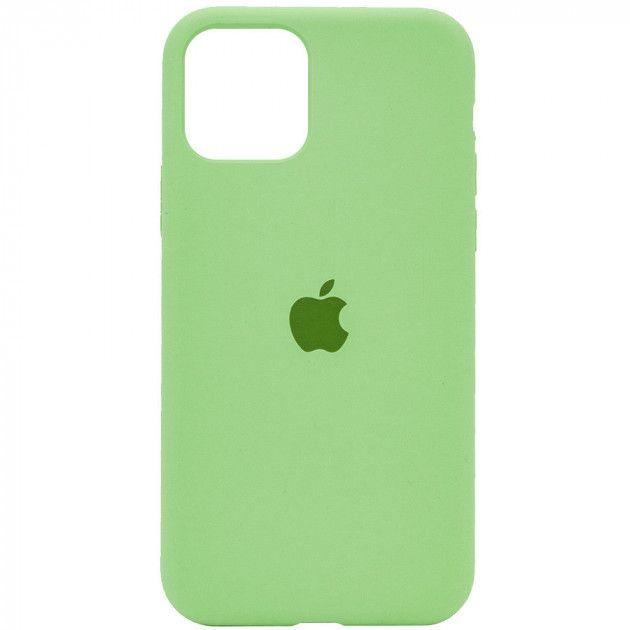 Чехол Apple Silicone Case iPhone 11 Mint_High Copy