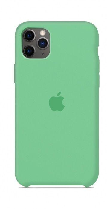 Чехол Apple Silicone Case iPhone 11 Pro Mint_High Copy