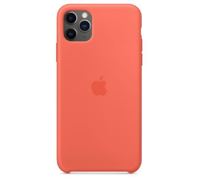 Чехол Apple Silicone Case iPhone 11 Pro Peach_High Copy