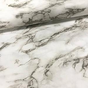 Ткань поплин (ТУРЦИЯ шир. 2,4 м) Мрамор серо-бежевый