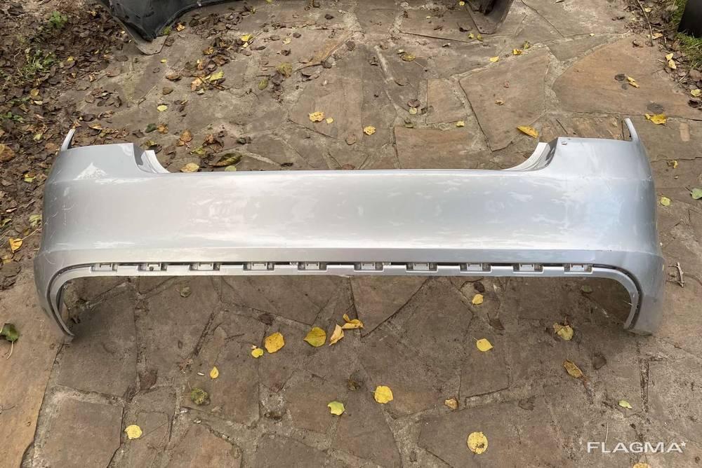 Бампер задний Skoda Rapid Шкода Рапид от2012 -гг 5JH807421 оригинал