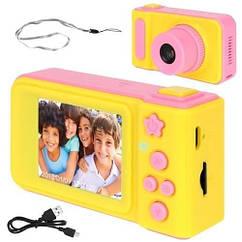 Камера цифровая детская Iso Trade розовая 8940