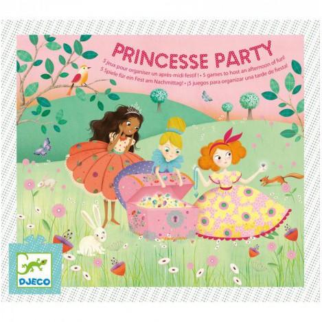 Ігровий дитячий набір для свята вечірка принцес djeco (DJ02096)