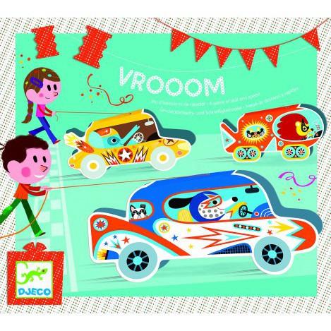 Игровой детский набор для праздника djeco vroom (DJ02093)
