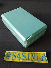 Блок для йоги двухцветный FI-1714, цвета в ассортименте Мятный