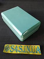 Блок для йоги двоколірний FI-1714, кольори в асортименті М'ятний