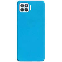 Силіконовий чохол Candy для Oppo A93 Блакитний