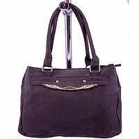 Женская сумка шоколадного цвета