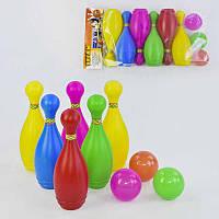 """Гр Кегли мал. 16200 (24) в кульке """"M-TOYS"""""""
