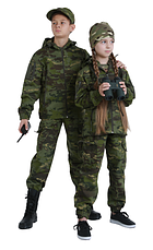 Костюм детский камуфляжный для мальчиков Скаут цвет Мультикам Тропик, фото 3