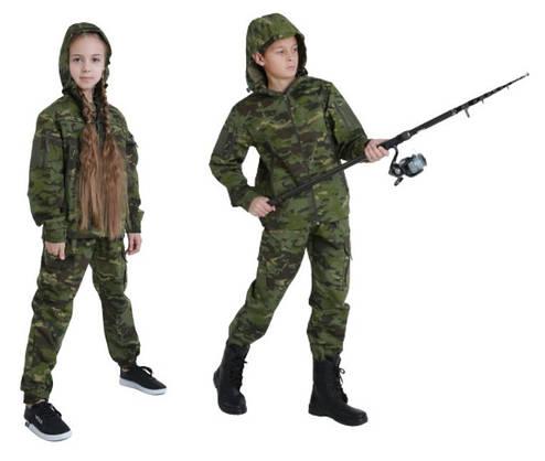 Костюм детский камуфляжный для мальчиков Скаут цвет Мультикам Тропик, фото 2