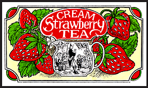 Черный чай Клубника Сливки, STRAWBERRY CREAM BLACK TEA, Млесна (Mlesna) 100г., фото 2