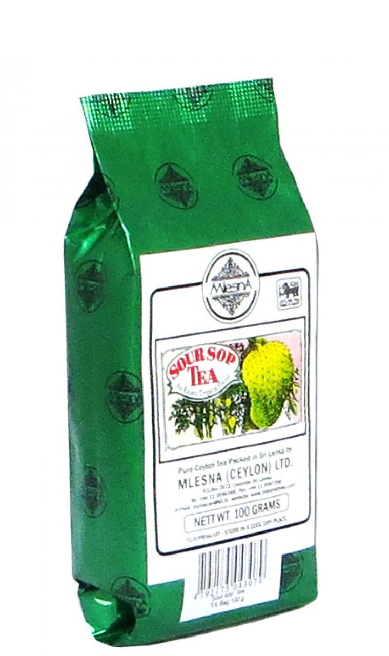 Черный чай Саусеп, SOURSOP BLACK TEA, Млесна (Mlesna) 100г.