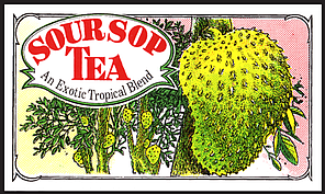 Черный чай Саусеп, SOURSOP BLACK TEA, Млесна (Mlesna) 100г., фото 2