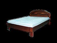 Кровать из дерева Кармен (в белом цвете) 1.6*2
