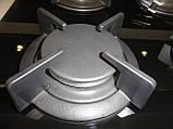 Sistema 6410 P03-K05 (600 мм.) газовая варочная поверхность цвет черное закаленное стекло, фото 4