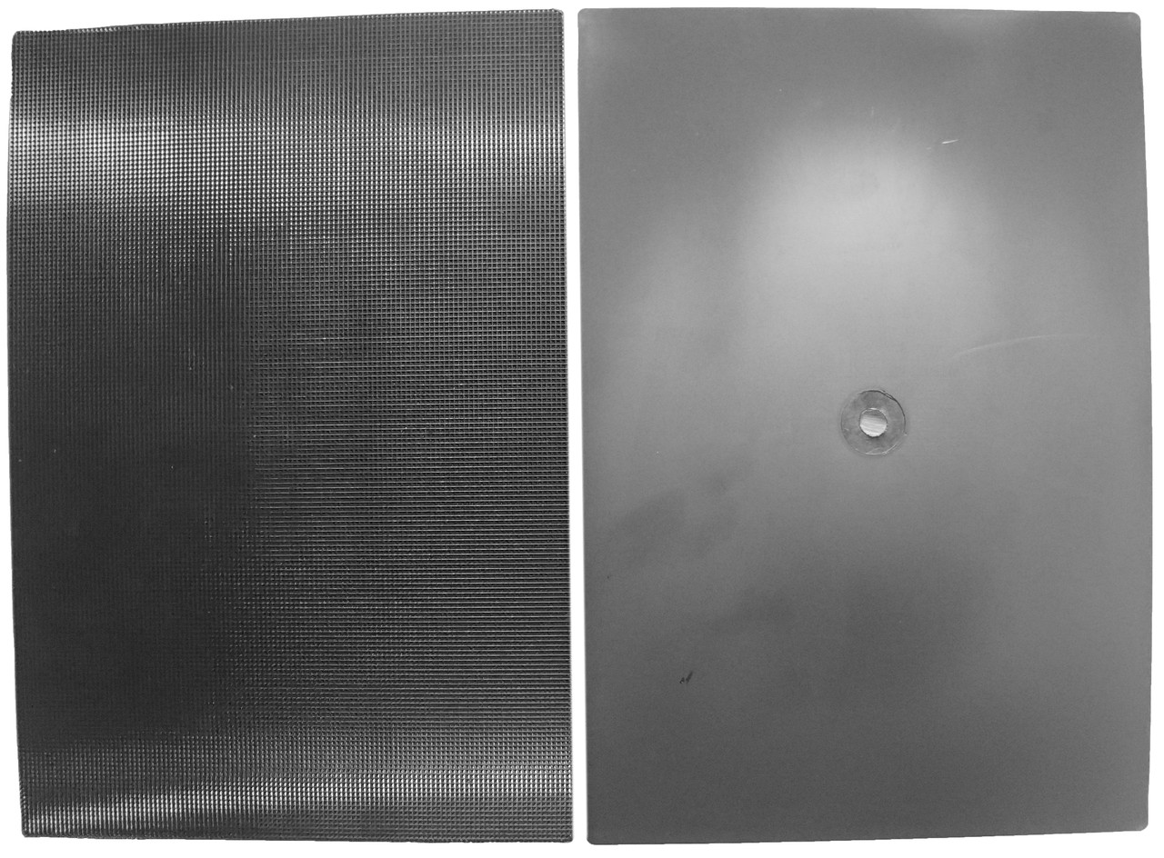 Полиуретан для обуви ITALY  260*180 т. 6,0 мм. цвет черный