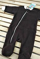 Флисовый комбинезон для новорожденных Люкс разные размеры