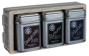 Три вида цейлонского плантационного черного чая, 3 ASSORTED TEAS COLLECTION, Млесна (Mlesna) 75г., фото 2