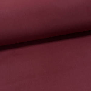 Хлопковая ткань однотонная вишня