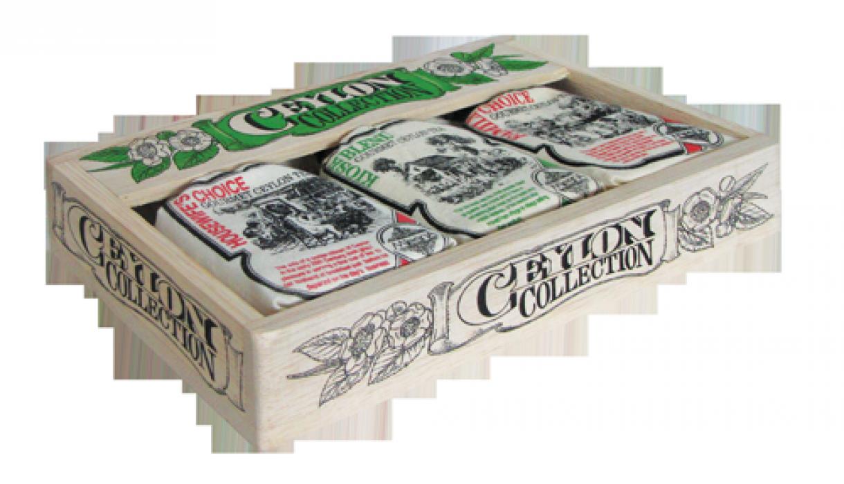 Набор из 3 видов цейлонского черного чая, CEYLON COLLECTION, Млесна (Mlesna) 75г (3*25г)