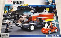 Конструктор Sluban Fire M38-B0808 Пожарная машина, фото 1