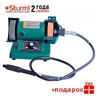 Точильный станок - гравер Sturm BG60075 140 Вт, 75 мм, гибкий вал, рег. оборотов