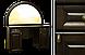 Кровать деревянная Вера (с кованным элементом)200*200, фото 2