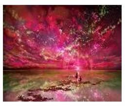 """Картина по номерам """"Звёздное небо"""" 40*50см,крас.-акрил,кисть-3шт.в коробке, фото 2"""