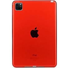 """TPU чехол Epic Color Transparent для Apple iPad Pro 11"""" (2020) Красный"""